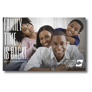 Family Time Stack Postcards