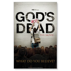 Gods Not Dead Postcard