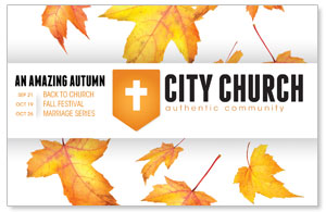 Fall Events Postcards
