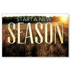 New Season Fall Postcard