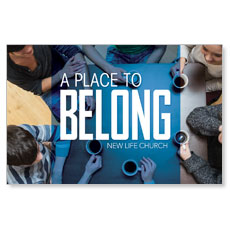 Overhead Belong Postcard