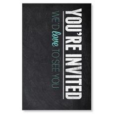 Slate Welcome Postcard