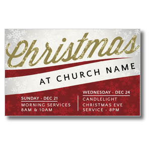 Christmas Events Postcards