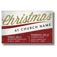 Christmas Events Postcard