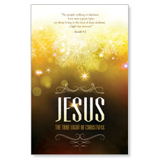 Jesus True Light Postcard