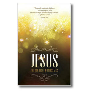 Jesus True Light 4/4 ImpactCards