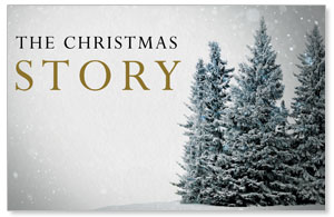 Christmas Story Trees DIY Postcard Packs