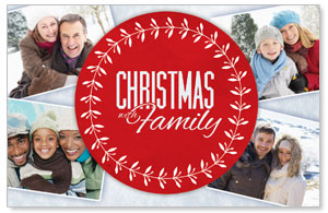 Christmas Family ImpactCards