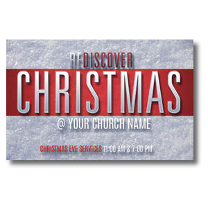 Christmas Stripe Postcards