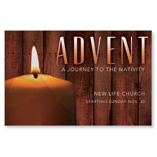 Journey To Nativity Postcard