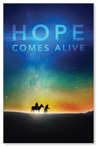 Hope Comes Alive Postcards