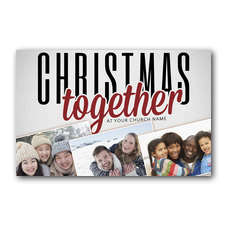 Christmas Together Postcard