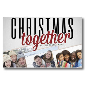 Christmas Together Postcards