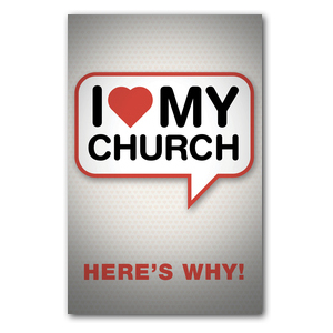 I Love My Church ImpactCards