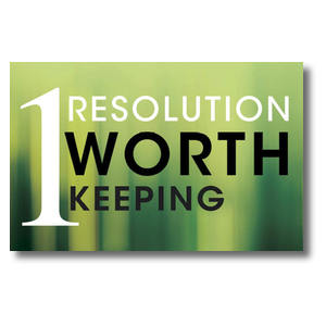 One Resolution Postcards
