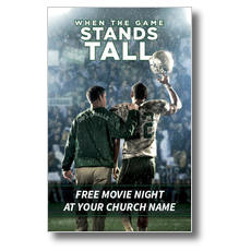 When the Game Stands Tall Postcard