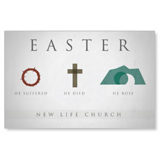 Easter Icons Postcard
