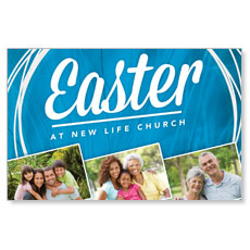 Easter People Postcard