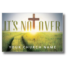 Easter Not Over Postcard