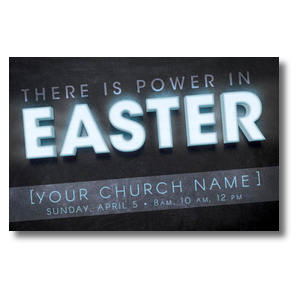 Power in Easter Postcards