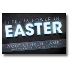 Power in Easter Postcard