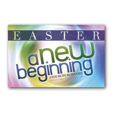 Easter Spiral Postcard