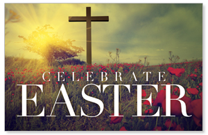 Celebrate Easter Cross DIY Postcard Packs