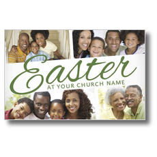 Easter Gathering Postcard
