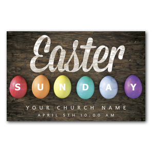 Easter Sunday Egg Postcards
