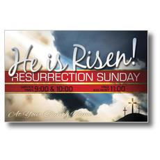Risen Resurrection Postcard