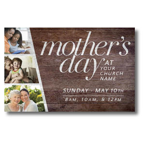 Mothers Day Invite Church Postcards