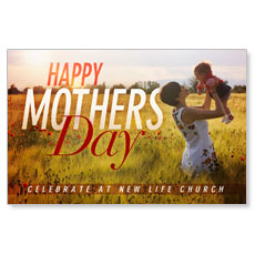 Mothers Day Field Postcard