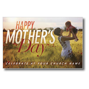 Mothers Day Field Postcards