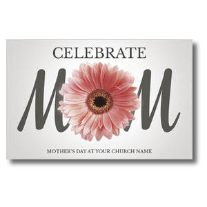 Mom Flower Church Postcards