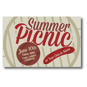 Summer Picnic Postcards