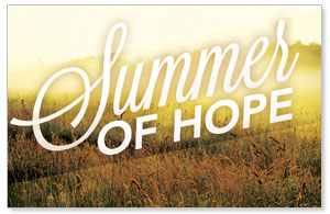 Summer of Hope DIY Postcard Packs
