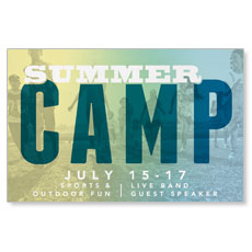 VBS Postcard Invitations