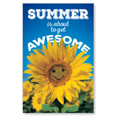 Summer is Awesome Postcard