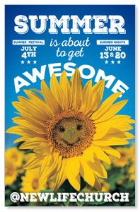 Summer is Awesome Postcards