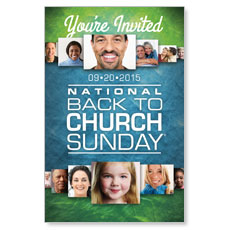 Back to Church Sunday 2015 Postcard