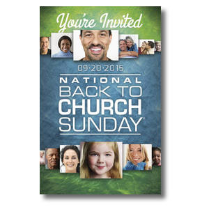 Back to Church Sunday 2015 Postcards
