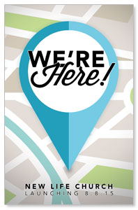 We Are Here Postcards