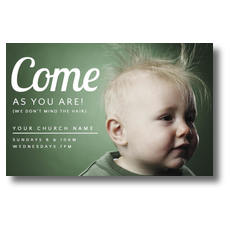 Baby Bed Head Postcard