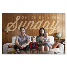 Spice Up Sunday Postcard