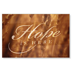 Fall Hope Wheat Postcard