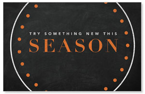 Season Dots Postcards