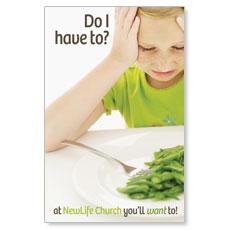 Green Beans Postcard