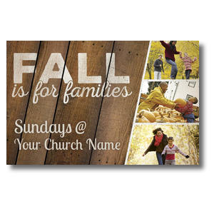 Fall Families Postcards