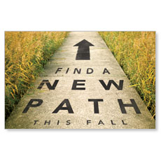 New Path Postcard