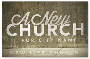 New City Church Church Postcards
